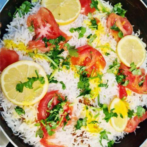 Chicken Biryani ready to Serve