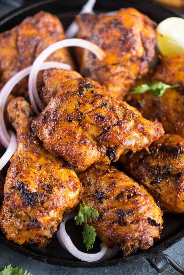 Different types of Tandoori Chicken