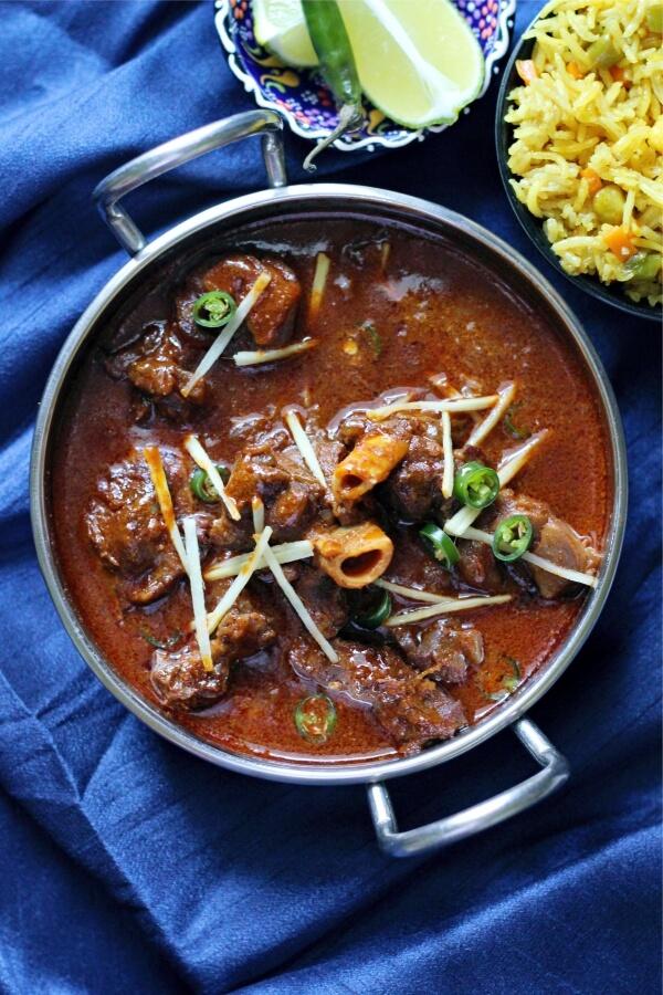 Lamb Nihari recipe